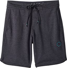 VISSLA Kids - Sofa Surfer Locker Fleece Shorts