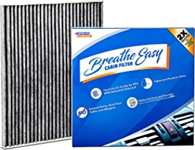 Spearhead Premium Breathe Easy Cabin Filter, Up to 25% Longer Life w/Activated Carbon (BE-775)