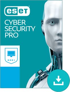 ESET Cyber Security Pro - Advanced Antivirus for Mac 2019 | 1 Device & 1 Year | Official Download with License