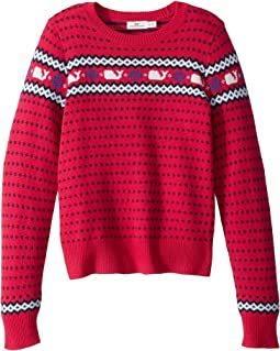 Whale Isle Sweater (Toddler/Little Kids/Big Kids)