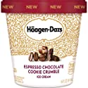 Haagen-Dazs Espresso Chocolate Cookie Crumble Ice Cream, 14 oz (Frozen)