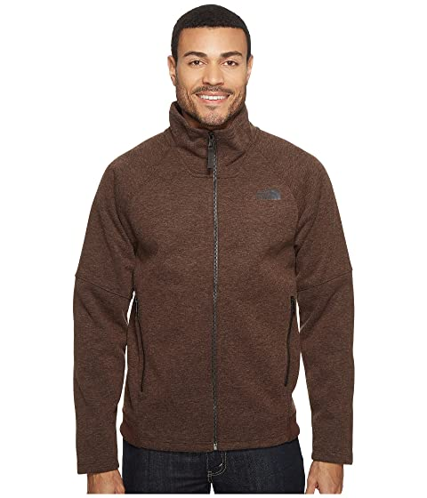 The North Face Trunorth/Far Northern Mens Full-Zip Jacket (Coffee Bean Brown)