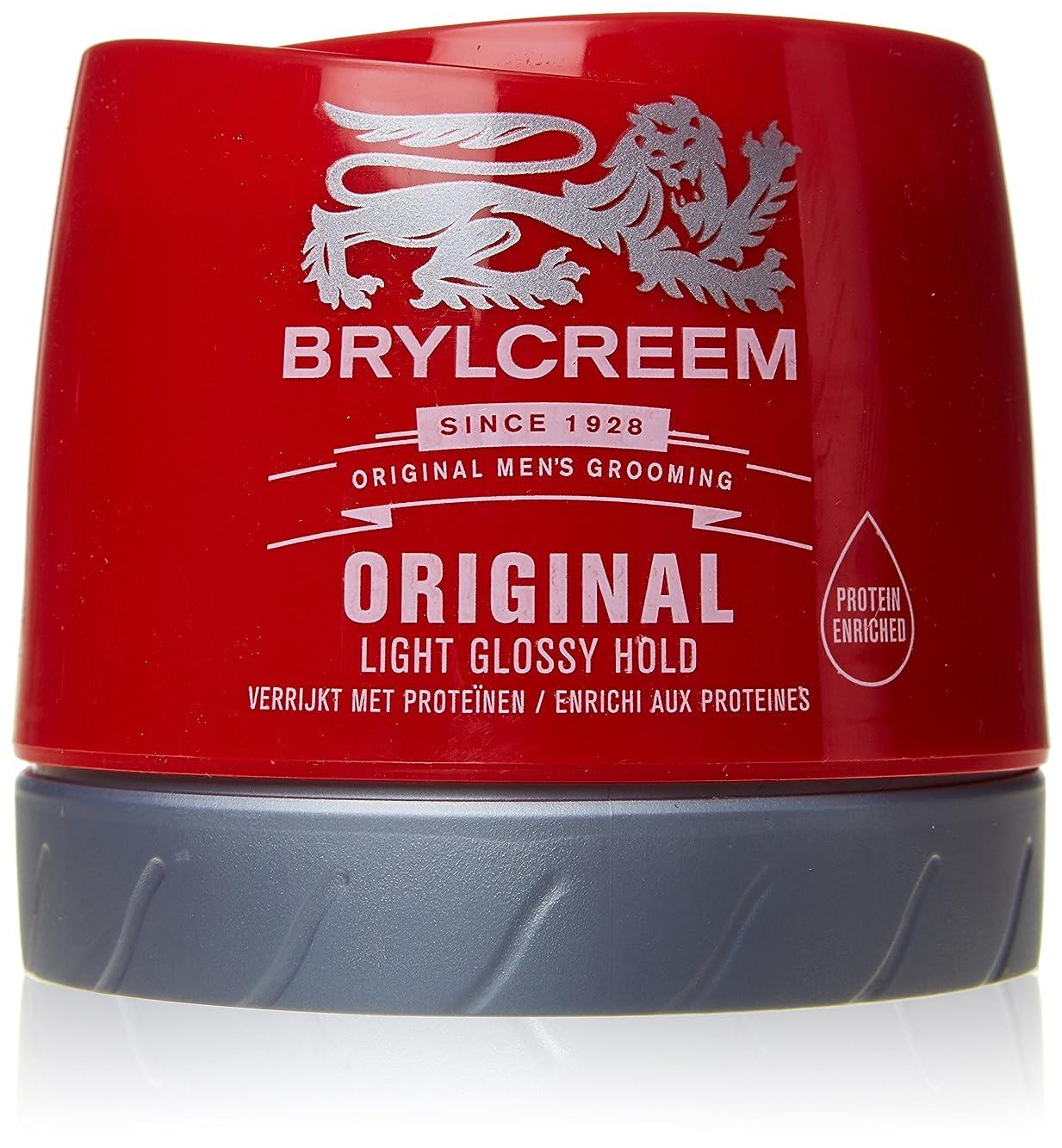 見かけ上自己尊重飛び込むBrylcreem Original Red Hair Cream 250ml