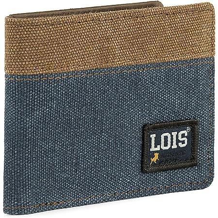 Lois - Cartera para Hombre Joven con Monedero, Billetera y Tarjetero. Marca LOIS con Protección Anti Escaneo RFID 203701