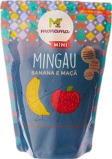 Mingau Banana Maçã Mini sem Glúten Saudável Monama 200g