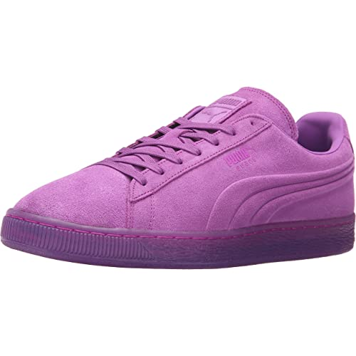 PUMA Men s Suede Emboss Iced Fluo Fashion Sneaker 74a9c379f