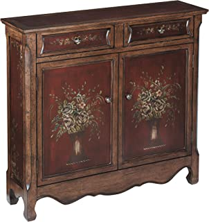 Stein World Furniture Chamberlin Cupboard, Burgundy, Walnut