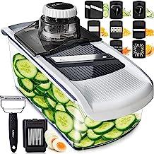 Mandoline Slicer Vegetable Slicer and Vegetable Grater - Potato Slicer Food Slicer Veggie Slicers Mandoline Slicer Cutter ...