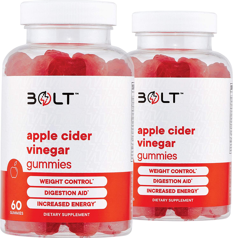 Bolt Apple Ranking TOP6 Cider Vinegar SALENEW very popular! Gummies Tasting - wi Best ACV