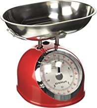 G3Ferrari g2000302Balance de cuisine mécanique, 5kg, rouge