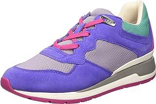 GEOX D Shahira B Womens Trainers/Shoes - Purple