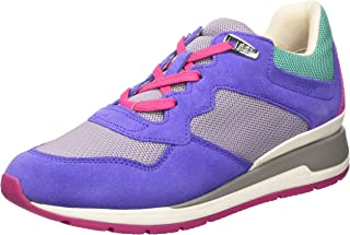 GEOX D Shahira B Womens Trainers/Shoes - Purple
