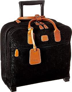 Life Tropea Ultralight International Carry-on Laptop|Tablet Pilot Case Two Wheel, Black