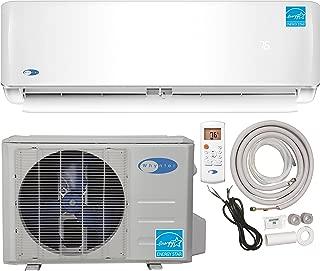Whynter Energy Star Mini Split Inverter Ductless Air Conditioner System & Heat Pump Full Set Seer 22 12000 Btu 115V