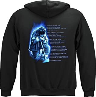 Erazor Bits 100% Cotton Fireman's Prayer T-Shirt