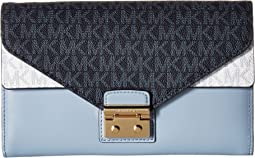 MICHAEL Michael Kors Large Envelope Wallet On A Chain