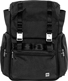 JuJuBe XY Collection Hatch Backpack Diaper Bag, Carbon
