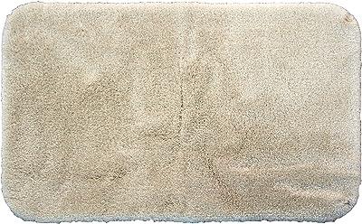 Royal Velvet Regency Nylon 24-by-44-Inch Bath Rug, Ivory