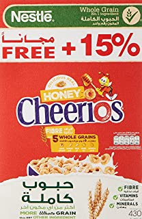 Nestle Cheerios Honey Breakfast Cereal Promo Pack , 430gms