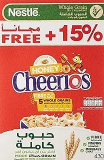 Nestle Cheerios Honey Breakfast Cereal Promo Pack , 430gms