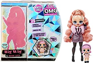 [NEW] L.O.L 서프라이즈 O.M.G 원터 칠 '빅 위그' & '마담 퀸' 패션 인형 L.O.L. Surprise! O.M.G. Winter Chill Big Wig Fashion Doll & Madame Queen Doll with 25 Surprises