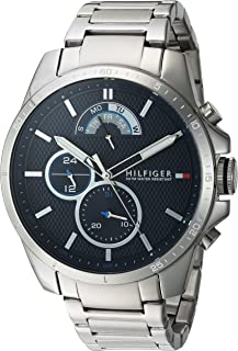 Tommy Hilfiger Womens Quartz Watch, Analog Display and Stainless Steel Strap 1791348