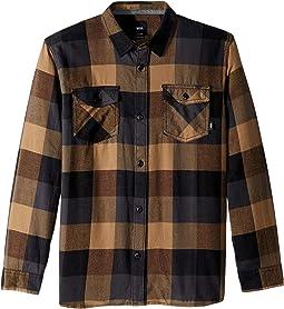 Box Long Sleeve Flannel (Big Kids)