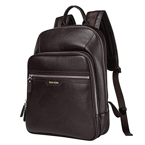 Genuine Leather High Back Pack Rucksack Clothing Travel Bags Men/'s Women/'s Gifts