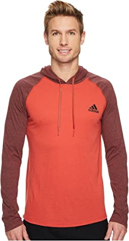 adidas - Ultimate Hooded Tricolor Tee
