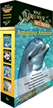 Amazing Animals! Magic Tree House Fact Tracker Boxed Set: Dolphins and Sharks; Polar Bears and the Arctic; Penguins and An...
