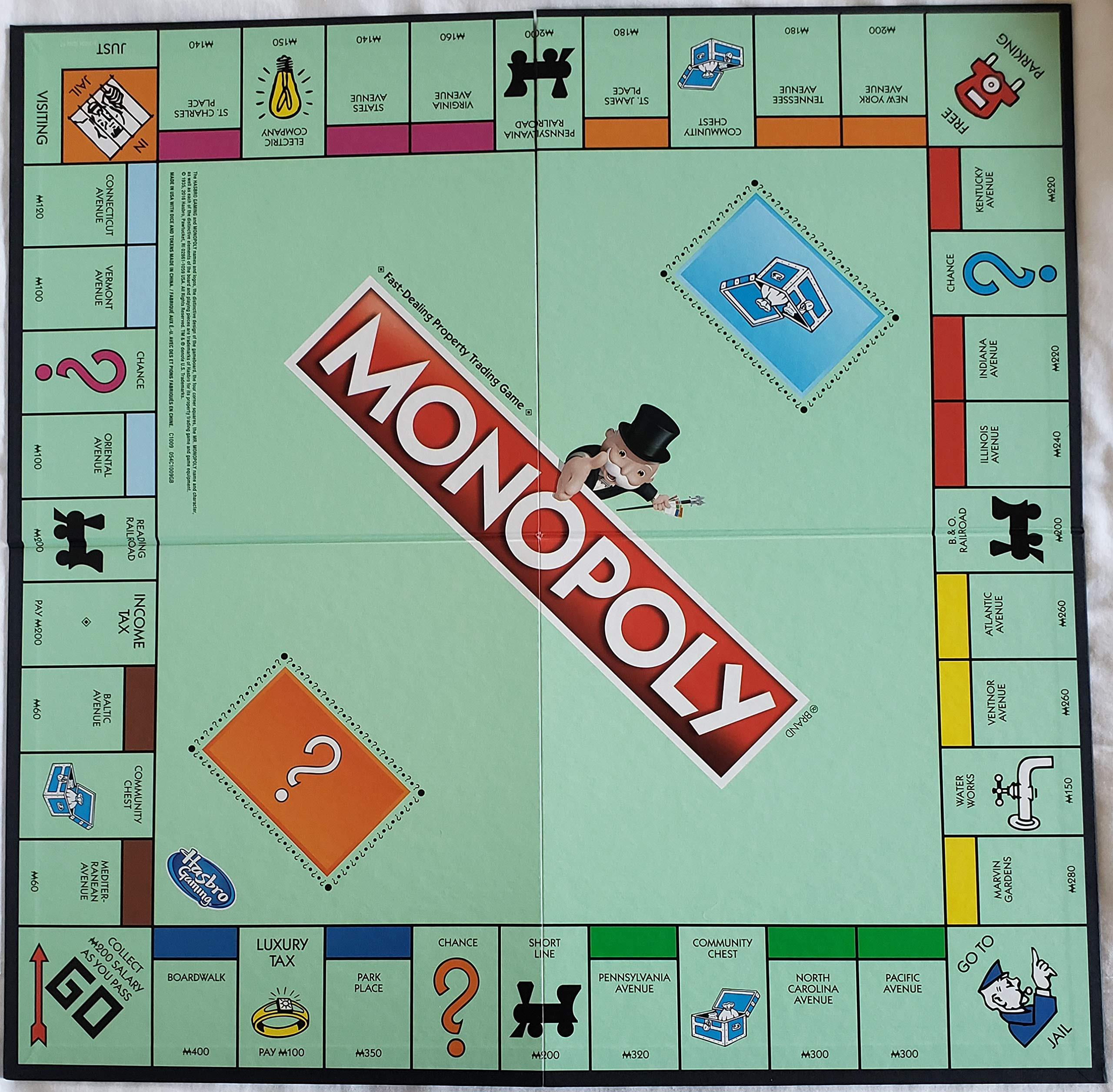 Monopoly Classic Game Hasbro Board Gaming UK Edition Original New Sealed Classic