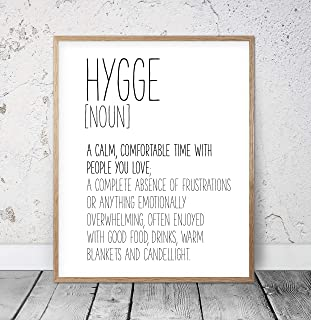 Hygge Sign Hygge Wall Art Funny Definition Poster Hygge Decor Hygge Print Hygge Poster Definition Printable Art Hygge Gift Funny Art Wood Pallet Design Wall Art Sign Plaque with Frame wooden sign