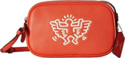Keith Haring Leather Crossbody Pouch