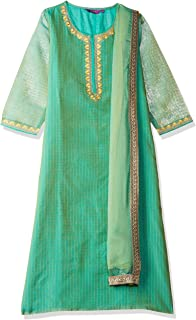 Rangriti Women's Straight Salwar Suit Set