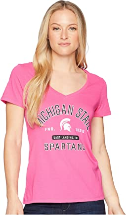 Michigan State Spartans University V-Neck Tee