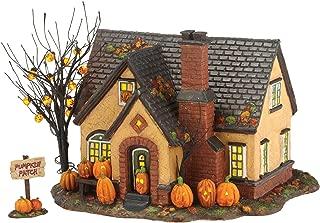 Department 56 Snow Village Halloween Pumpkin House Lit Building, 6.69 inch (4030757)