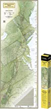National Geographic: Appalachian Trail Wall Map in gift box Wall Map (18 x 48 inches) (National Geographic Reference Map)