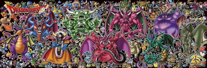 Dragon Quest 25th anniversary 950 Pieces Jigsaw Puzzle 34 x 102 cm [JAPAN] (japan import)