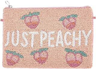 From St Xavier Women's Peachy Clutch, Peach, One Size