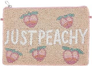 From St Xavier Women's Peachy Clutch, Peach, One Size