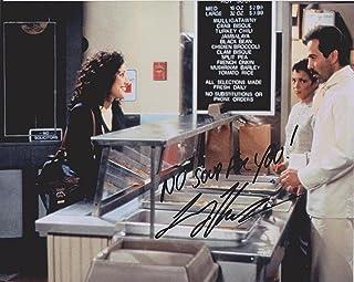 Larry Thomas Seinfeld Soup Nazi 3 Original Autographed 8x10 Photo