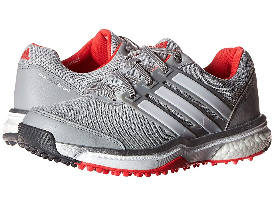 adidas Golf Adipower S Boost II (Clear Onix/Ftwr White/Shock Red) Women