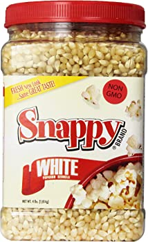 Snappy White Popcorn 4 Pounds