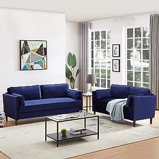 Amazon.com: Living Room Furniture Sets - Blue / Living Room Sets / Living Room Furniture: Home & Kitchen