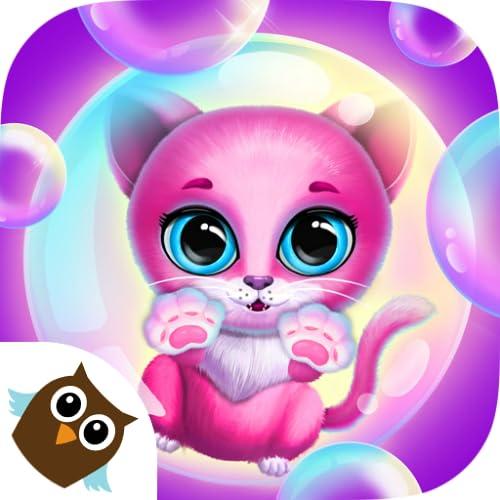 Kiki & Fifi Bubble Party - Fun with Virtual Pet Cat, Dog, Tiger & More