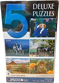 Sure-lox 5 Deluxe Jigsaw Puzzles