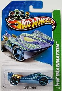 Hot Wheels 2013 HW Imagination Super Stinger (Stingray Car) 71/250, Blue