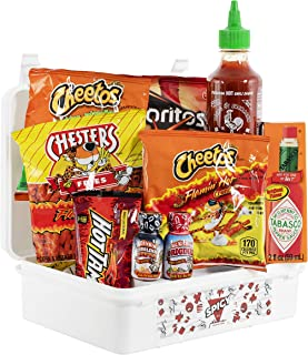 Spicy Hangry Kit Challenge, Hot Sauce and Spicy Snack Sampler, Care Package or Gift Pack, Includes a Variety of Spicy Yummies, 100% Guaranteed