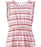 Printed Zigzag Dress (Toddler/Little Kids)
