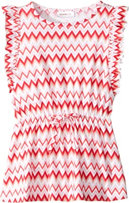 Printed Zigzag Dress (Toddler/Little Kids)